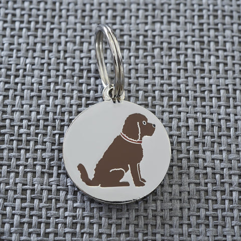 Cockapoo Dog Tag In Gift Box