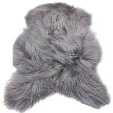 Icelandic Sheepskin Dyed Special Grey
