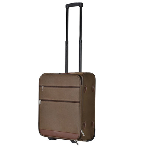 Small Brown Trolley Case