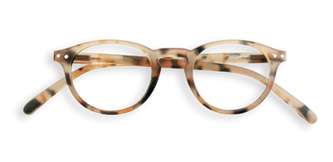 Izipizi #A Reading Glasses (Spectacles)Light Tortoise Soft