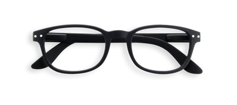 Izipizi #B Reading Glasses Black Soft