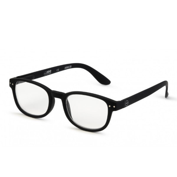 Izipizi #B Reading Glasses(Spectacles)Black Soft