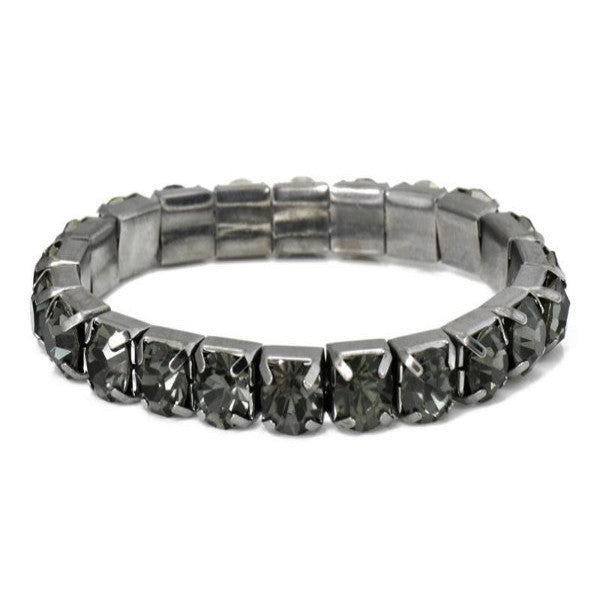 Black Quartz Effect Jewel Bracelet