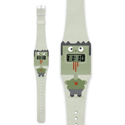 Kid's Paper watch- Zombie