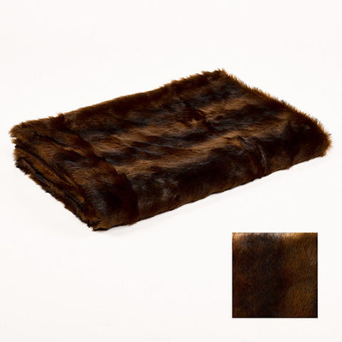 Faux Fur Throw -Mink  Dimensions 130 cm x 170cm
