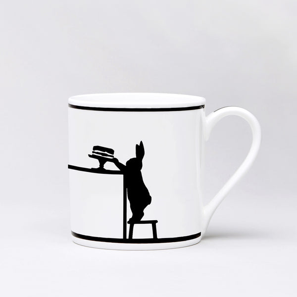 Cake Loving Rabbit Mug by Ham