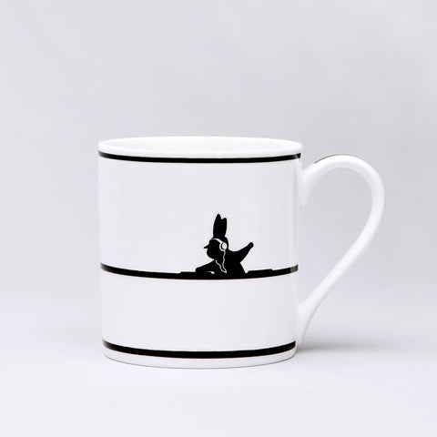 DJ Rabbit Mug by Ham