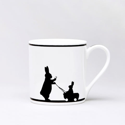 Insta Baby Rabbit Mug by Ham
