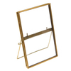 Brass Standing Gallery Style Photo Frame 15x10cm