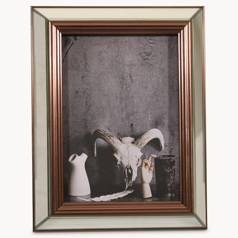 Lexington Mirrored Photo Frame W: 17.8cm, H: 23cm, D: 4.7cm
