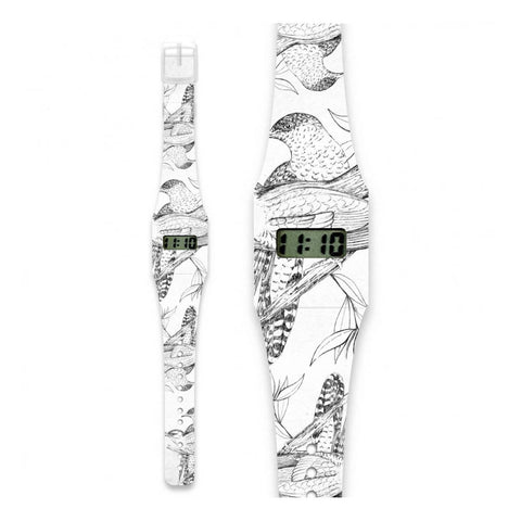 Paper Watch-Feather