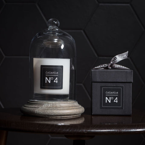 No 4 - a refreshing fusion of lime and peppermint, specifically designed to energize, invigorate and cleanse the senses.