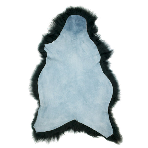 Icelandic Sheepskin Bottle Green