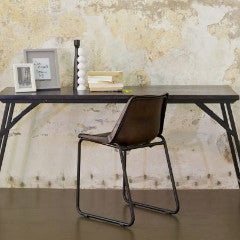 Fold Away Black Table