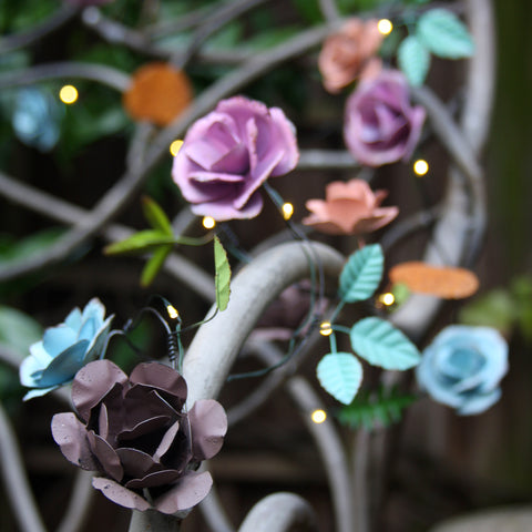 Rose Hand Made Novelty String Lights