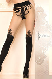 Ballerina 459 Tights Pantyhose-Rebel Romance