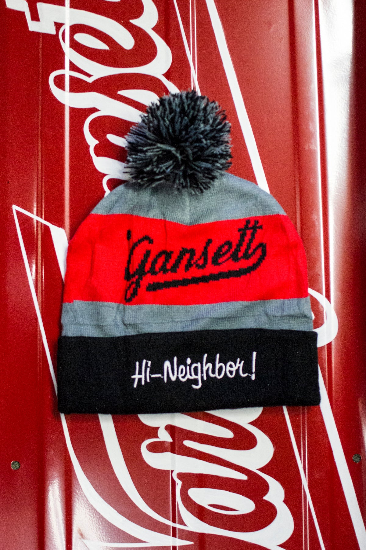 "The ""Hi Neighbor!"" Winter Hat"