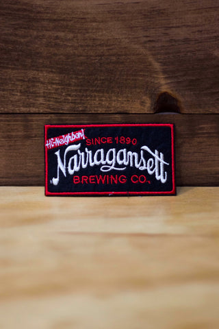 Black Narragansett Patch