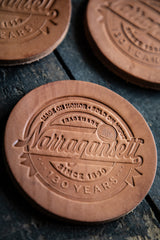 HARDENCO X 'Gansett Leather Coasters (No.5)