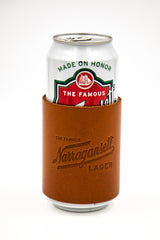 American Bench Craft X 'Gansett Leather Coozie