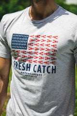 The Fresh Catch Flag T (Mens)