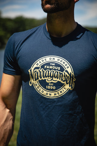 The Navy and Tan 'Gansett T