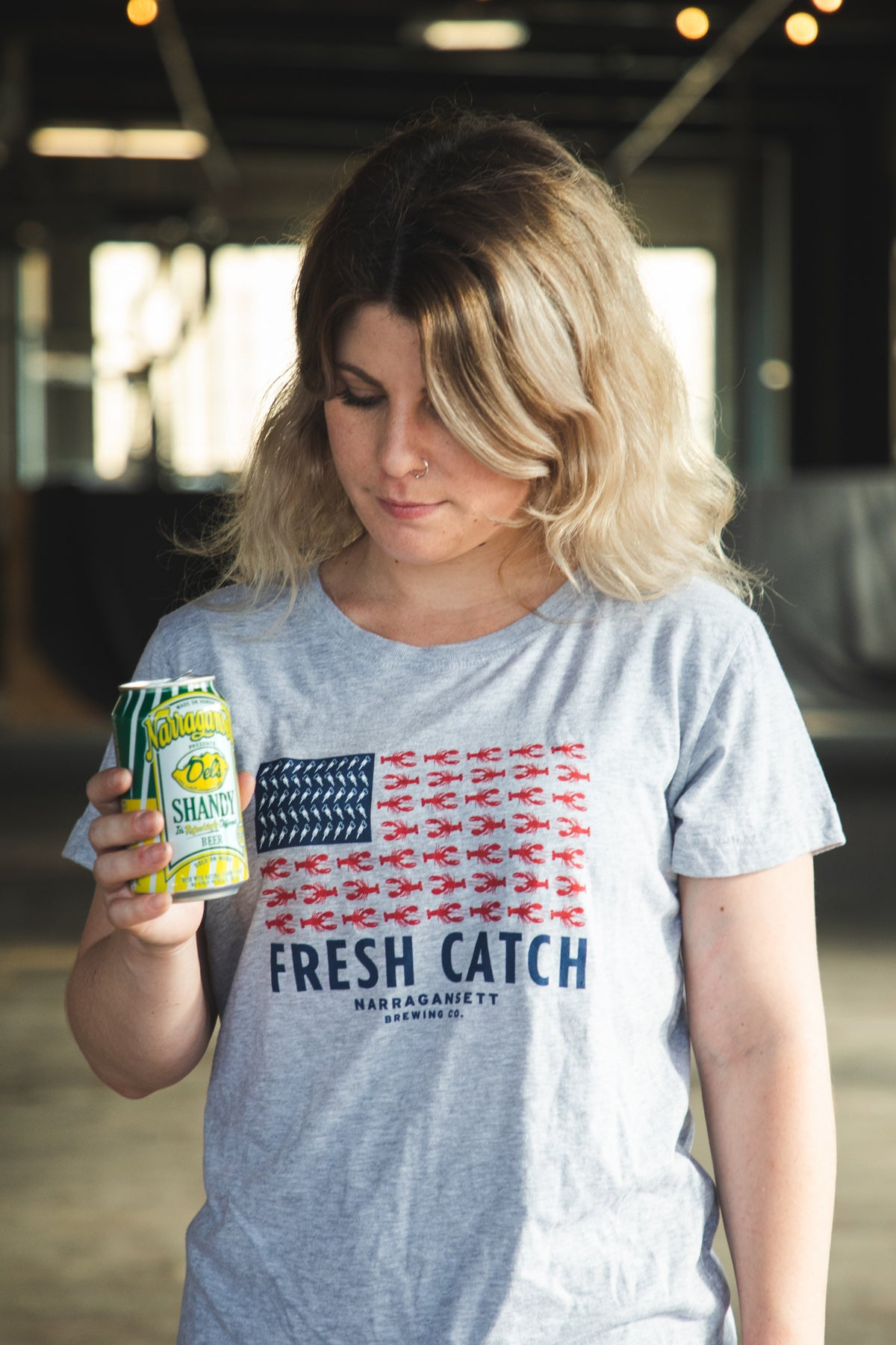 The Fresh Catch Flag T (Womens)