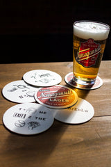 The Famous Rebus Coasters