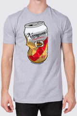 "Johnny Clam Cakes X 'Gansett ""Crush It"" T (Gray)"
