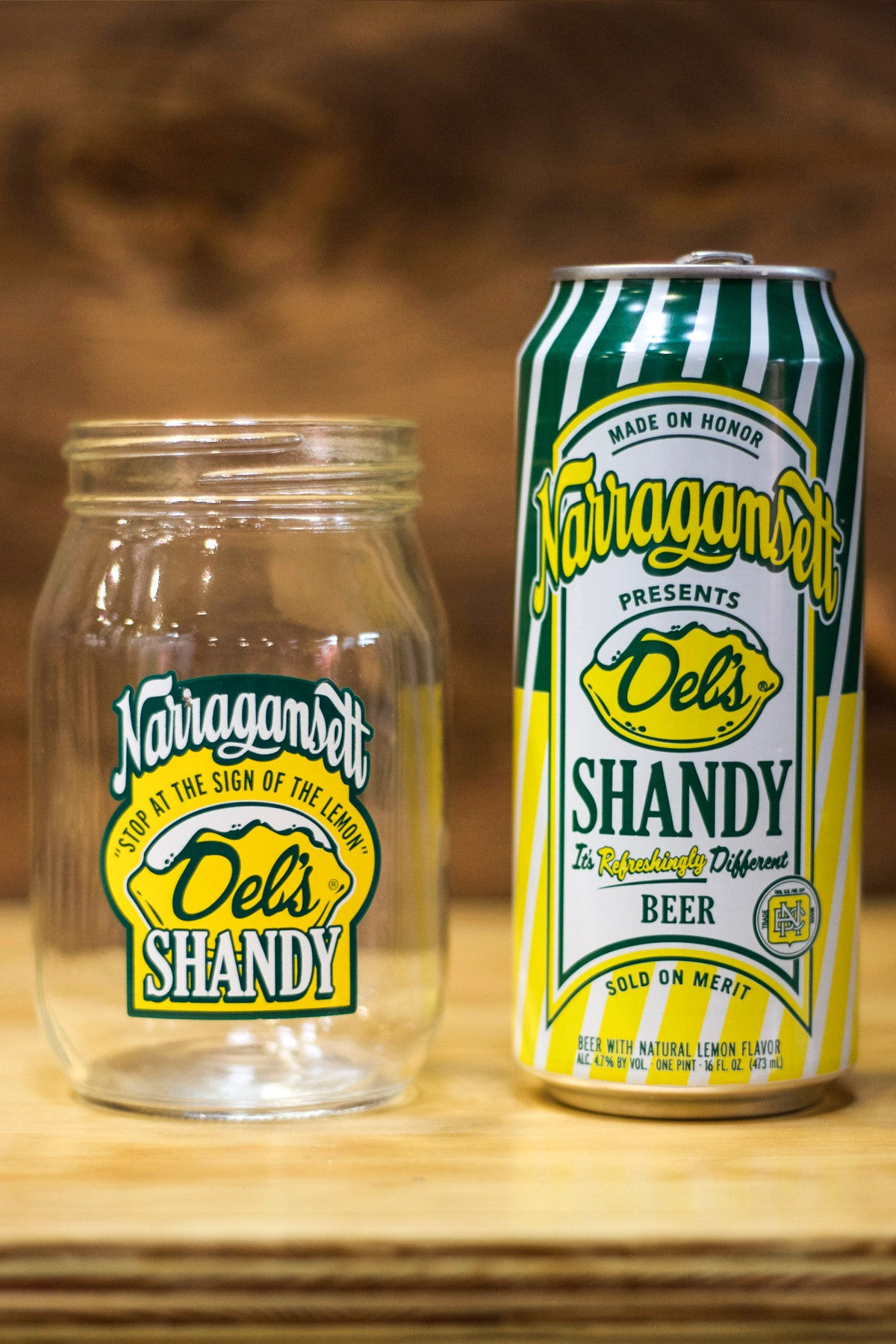The Del's Shandy Jar