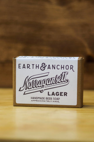 'Gansett Lager Soap by Earth and Anchor