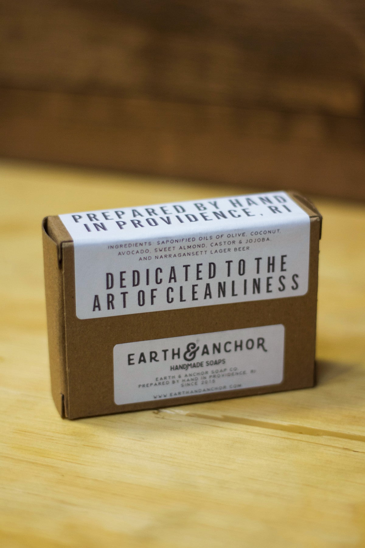 Earth and Anchor X 'Gansett Lager Soap