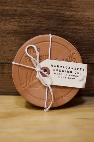 HARDENCO Leather Coasters No.3
