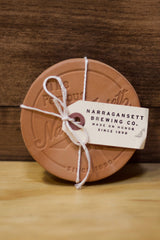 HARDENCO X 'Gansett Leather Coasters (No.3)