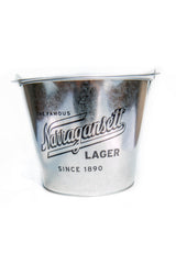 The Famous Narragansett Lager 5 Quart Beer Bucket