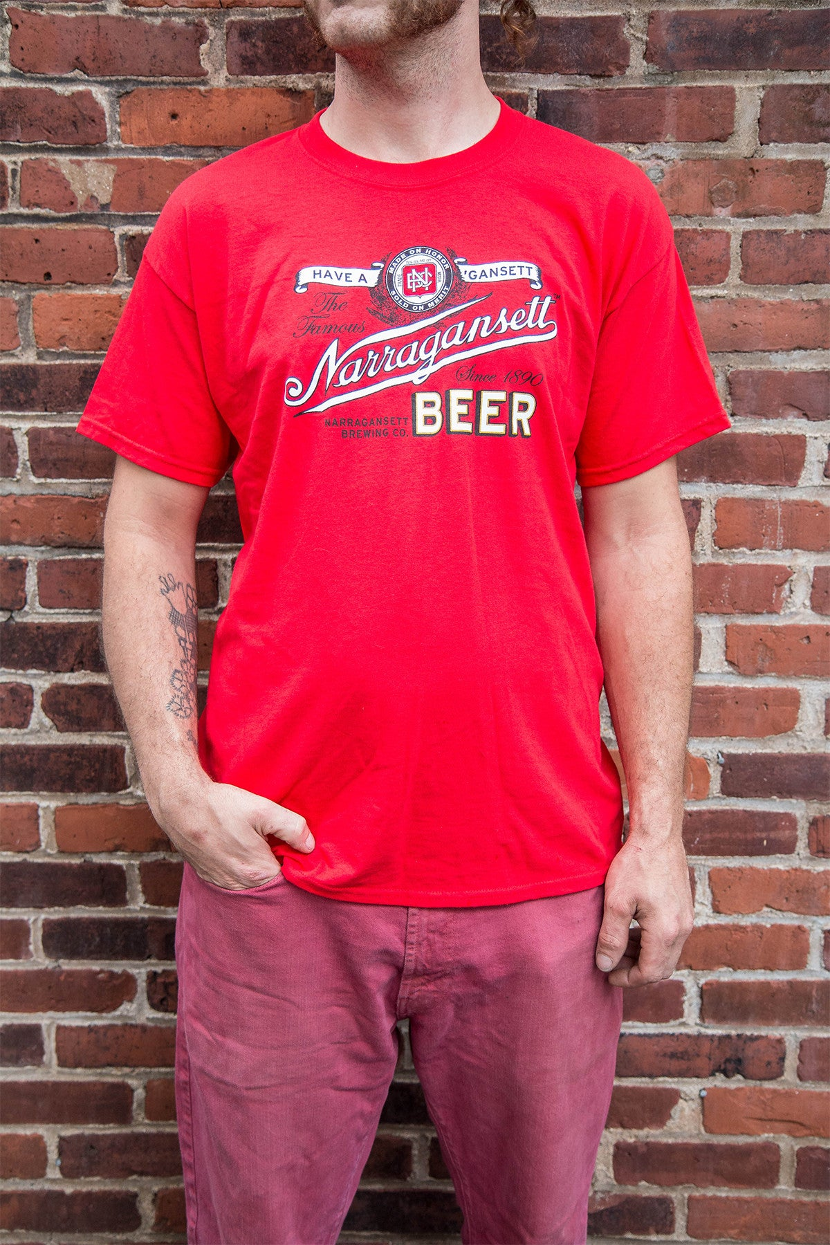 Vintage Narragansett Beer T-Shirt