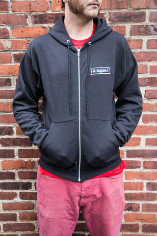 Hi-Neighbor! Embroidered Full Zip Hoodie