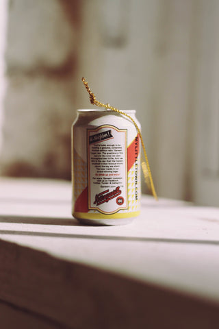 1975 Lager Can Ornament