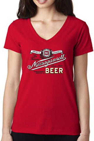 Ladies Vintage V-Neck