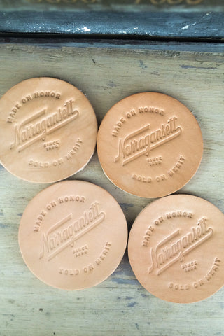 HARDENCO Leather Coasters No.1