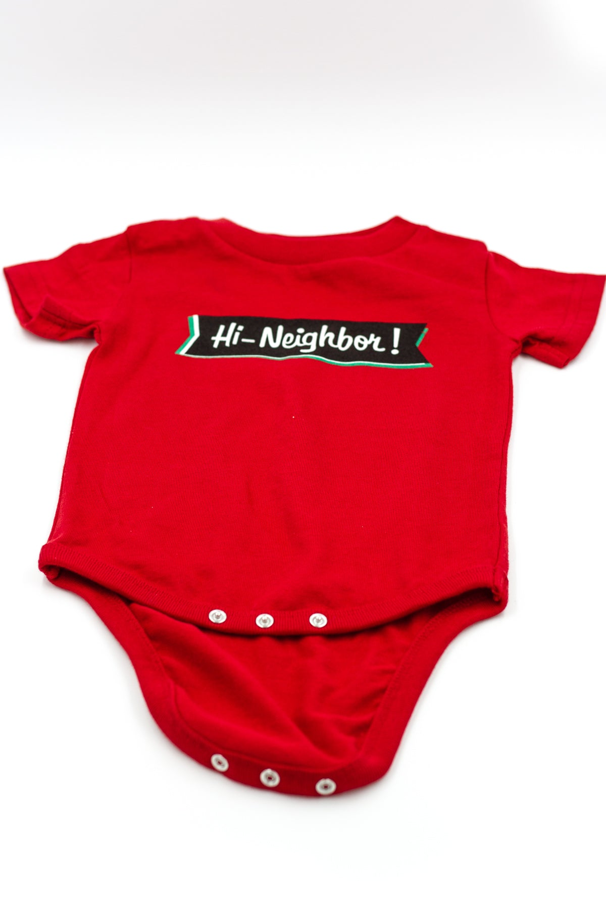 "The ""Hi Neighbor"" Onesie"