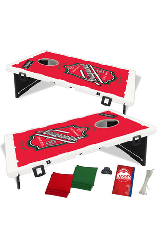 The Portable Cornhole Set