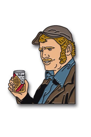 Crush It Like Quint Enamel Pin