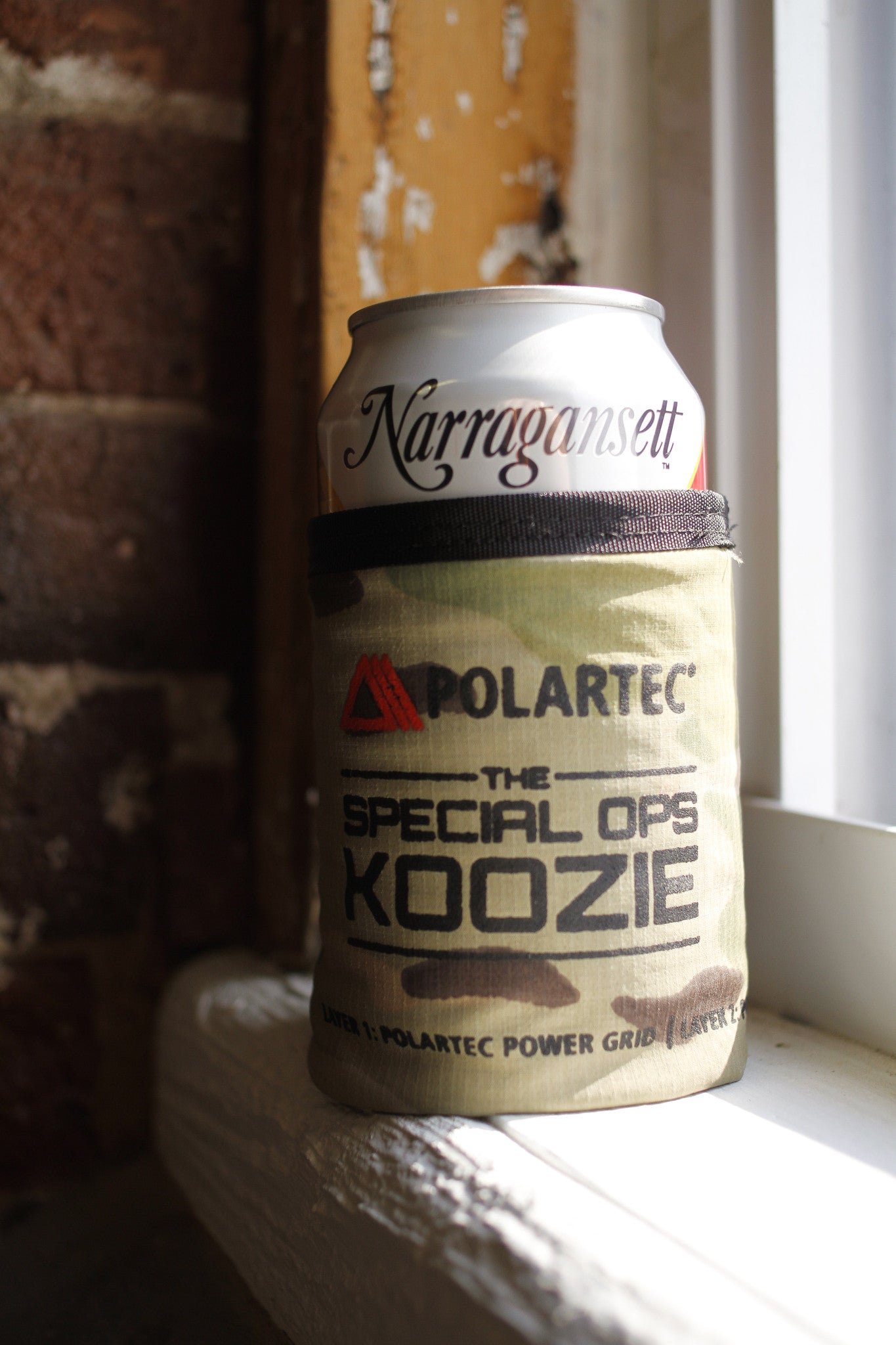 Polartec X 'Gansett Special Ops Coozie (Benefits Homes for Our Troops)