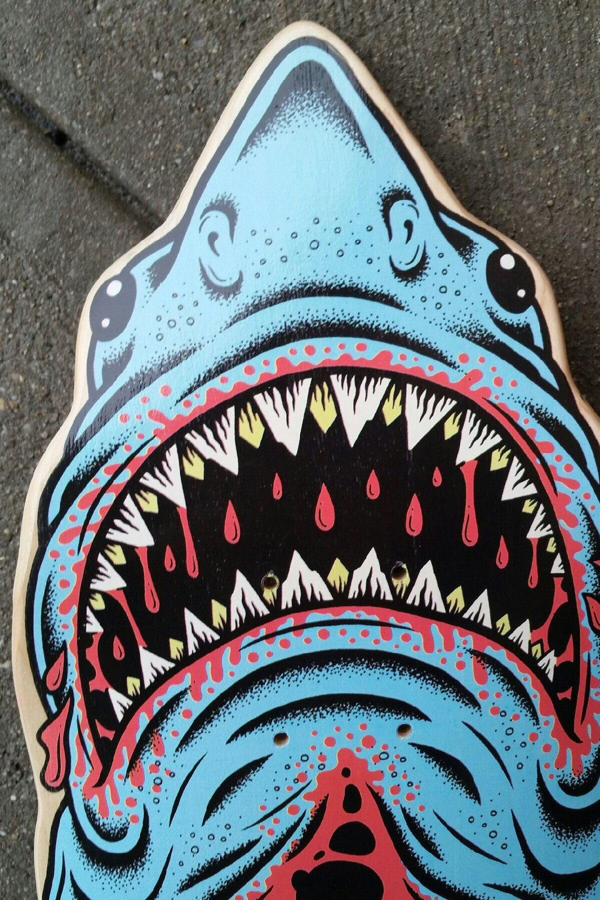 Tasty X 'Gansett Custom Shark Deck