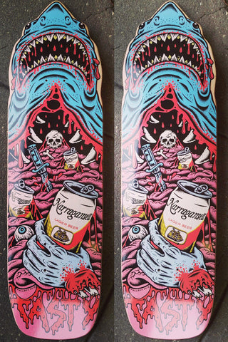Tasty Skateboards - Custom Shark Deck