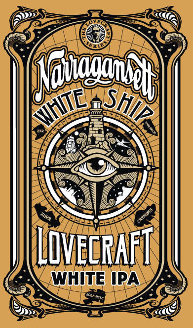 White Ship White IPA Poster