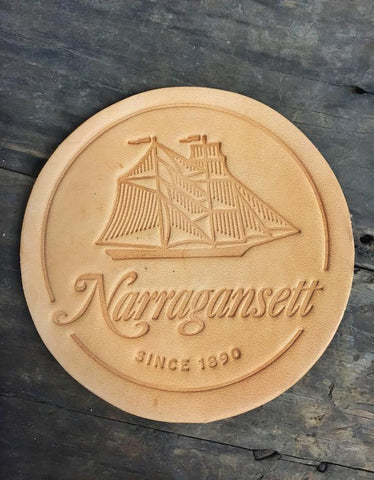 HARDEN Leather Coasters No.2