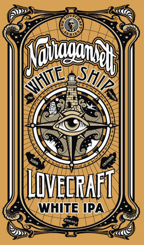 The White Ship White IPA Poster
