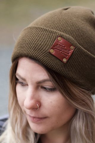 American Bench Craft X 'Gansett Watch Cap (Olive)